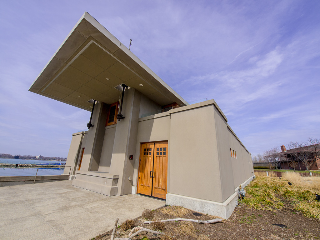Frank Lloyd Wright Boathouse, Buffalo New York