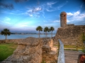 St. Augustine Florida Fort HDR