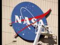Kennedy Space Center VAB NASA Meatball Logo