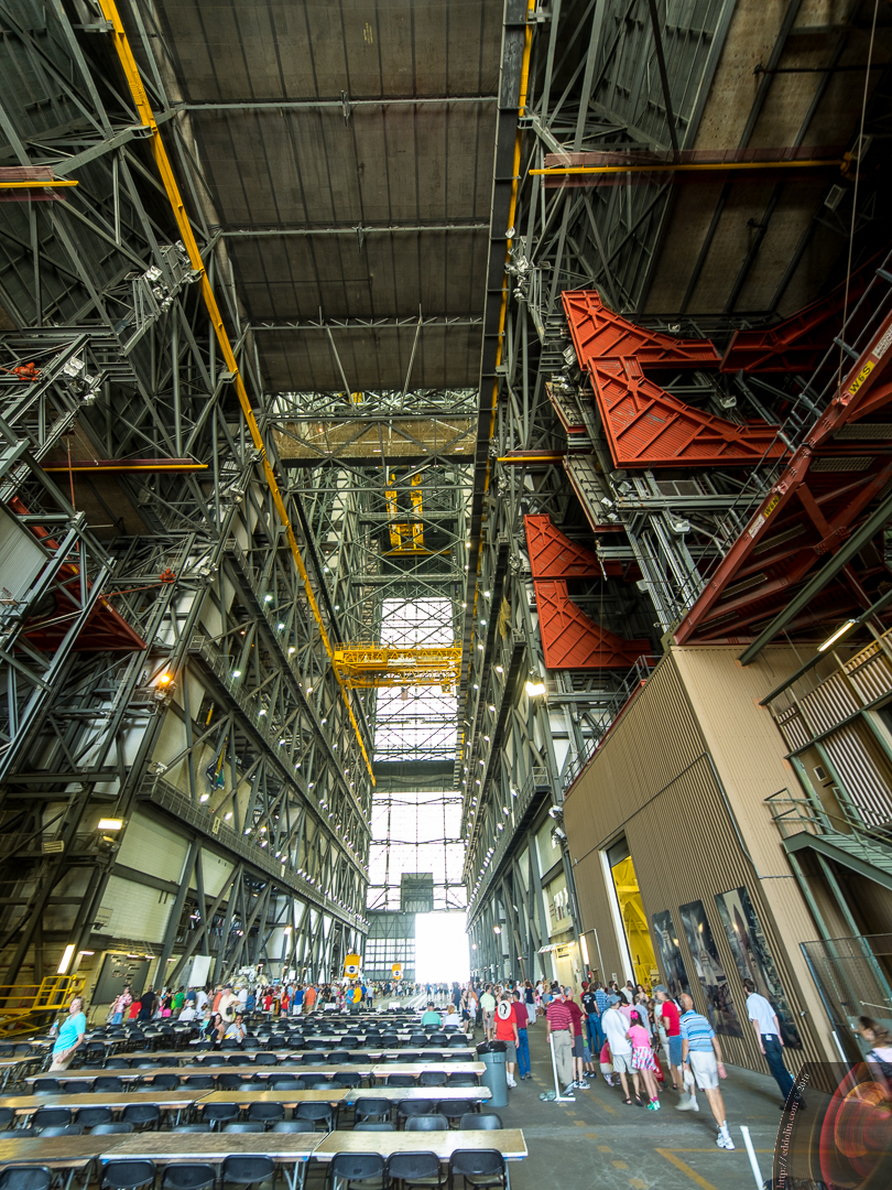 Kennedy Space Center VAB Inside