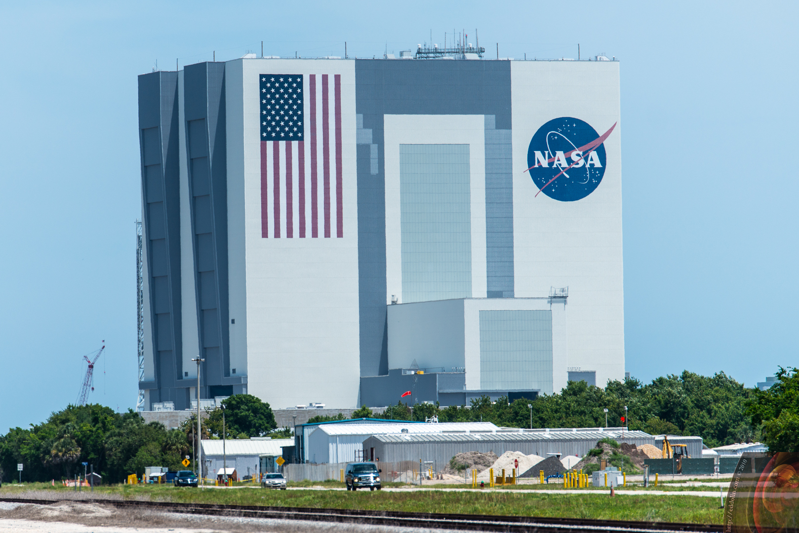 Kennedy Space Center VAB from SR3